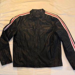 Leather Jacket - Men's - Large